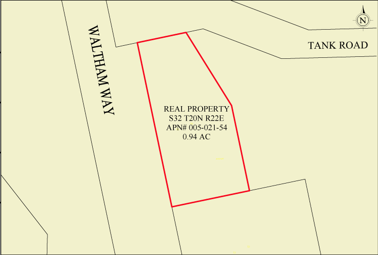 Waltham Way 1 ac +/- site